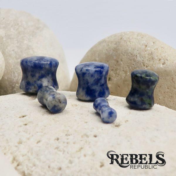 Sodalite Stone Plugs