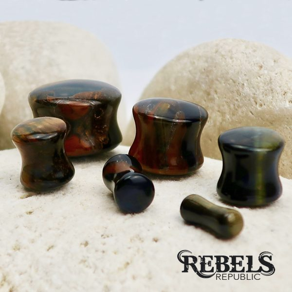 Tigers Eye Plugs