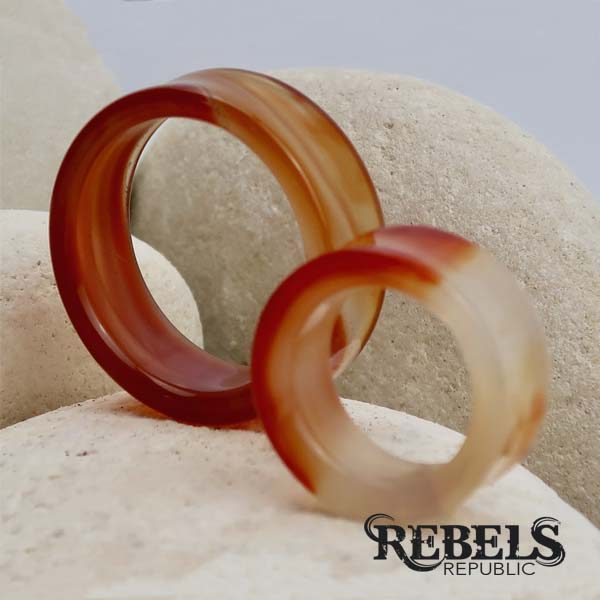 Red Agate Stone Tunnels