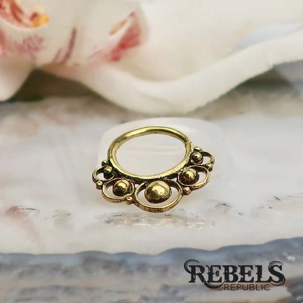Circles Septum Ring