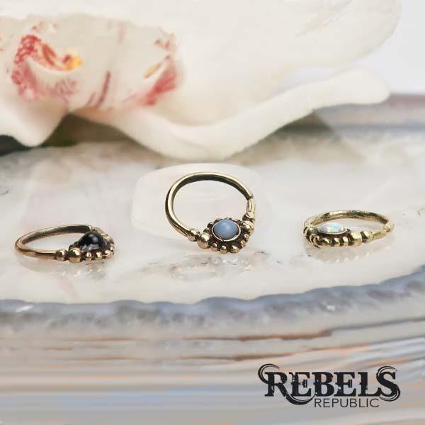 Gemma Septum Ring