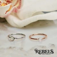 Opal Sparkle Nose Ring