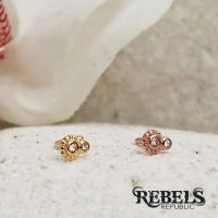 Steampunk Gear Nose Stud