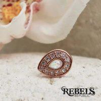 Opal Avice Tragus Earring