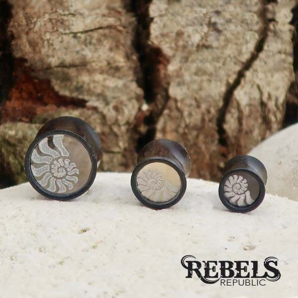 Shelly Wood Plugs
