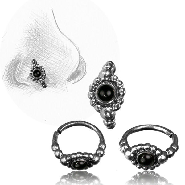 Gemma Nose Ring