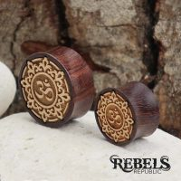 Indian Ohm Wood Plugs