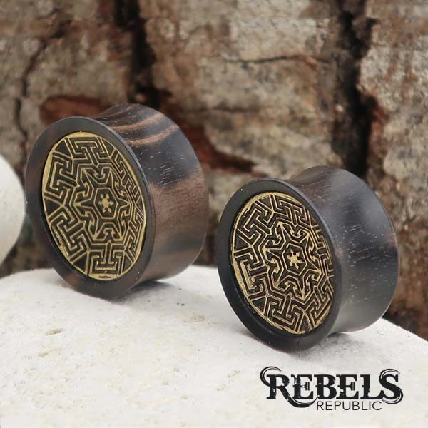 The Maze Wood Plugs