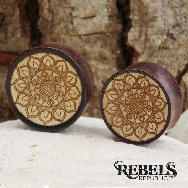 Indira Wood Plugs