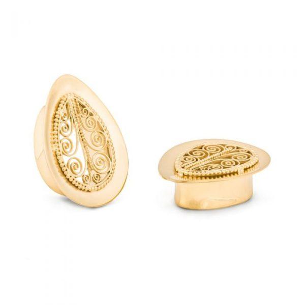 Zehba Gold Plated Plug