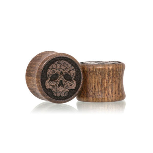 Day of the Dead Custom Plugs
