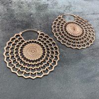 Electric Heart Earrings