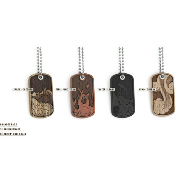 Elements Dog Tag - pre order