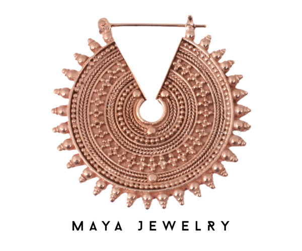 The Queens Earrings - Rose Gold