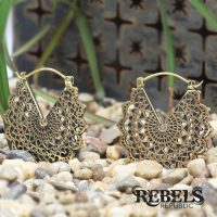 Majesty Black Earrings - standard