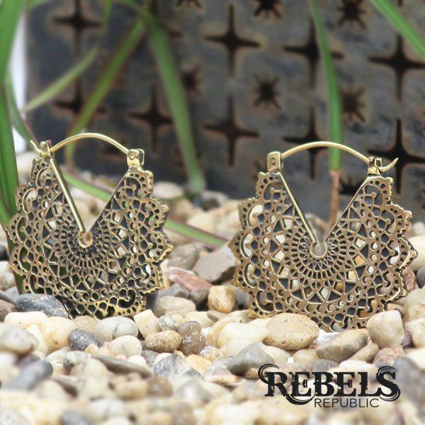Majesty Black Earrings - standard