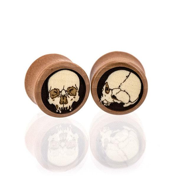 Ossuary Skulls Plugs