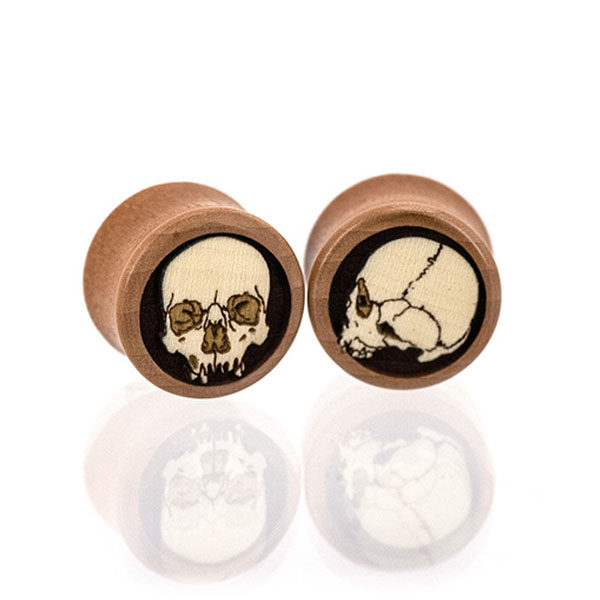 Ossuary Skulls Custom Plugs