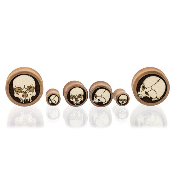 Ossuary Skulls - Custom Plugs