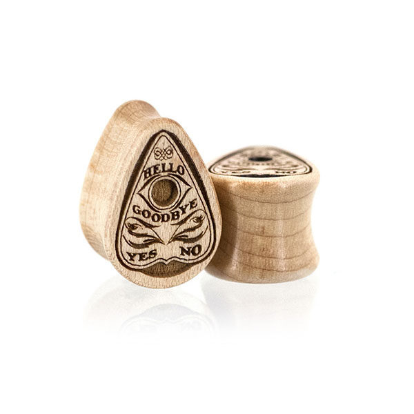 Planchette Teardrop Custom Plugs