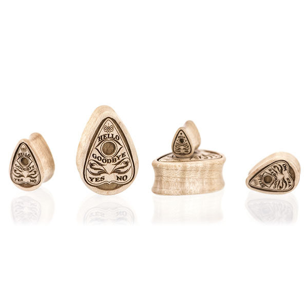 Planchette Teardrop - Custom Plugs