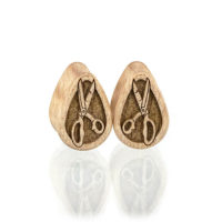 Scissor Teardrop Plugs