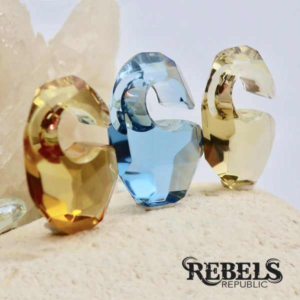Bling Ovoids Ear Weights