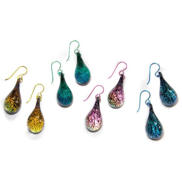 Dichroic Earrings - Order