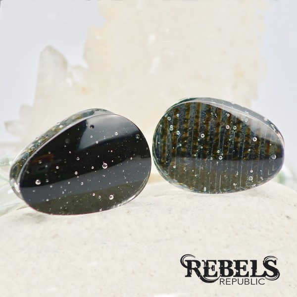 Iridescent Teardrop Plugs