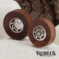 Tribal Sun Saba Wood Plugs
