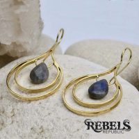 Mandorla Earrings