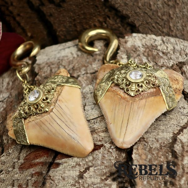 Megalodon Ear Weights