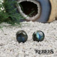 Labradorite Stone Plugs