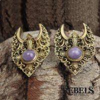 Amethyst Saddle Hangers