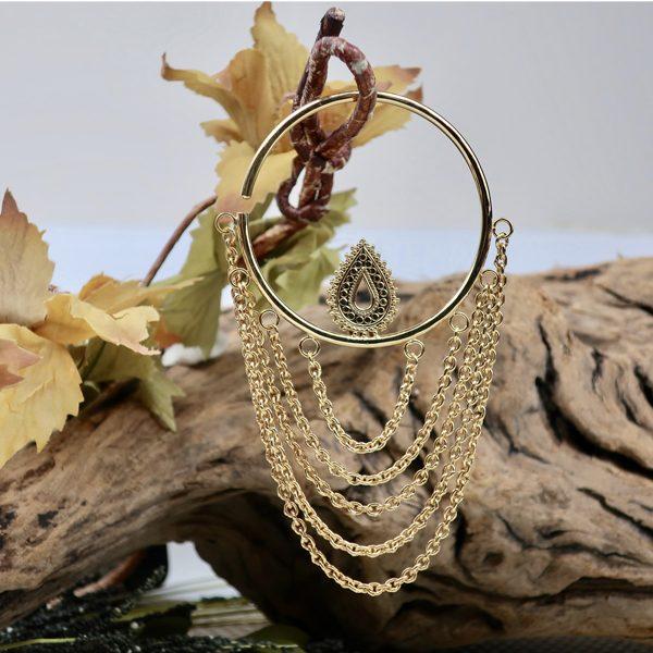 Deity Hoop Earrings