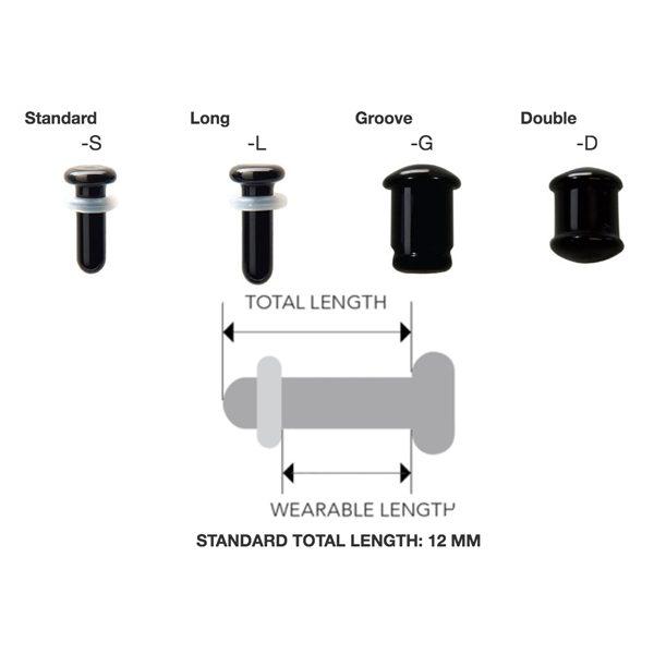 Colour Front Plugs