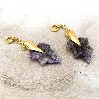Amethyst Maple Leaves