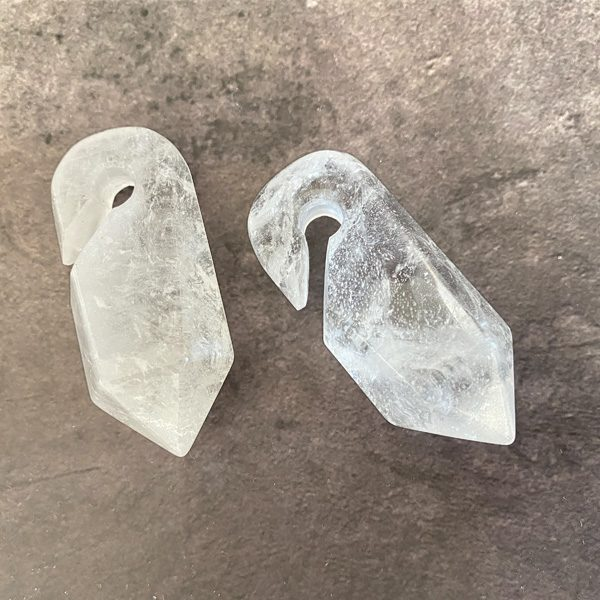 Crystal Prism Ear Weights