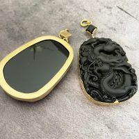 Serpent Obsidian Ear Weights