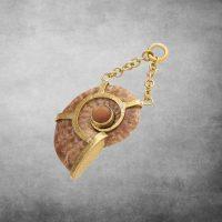 Sunstone Ammonite Dangles